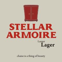 Check out Stellar Armoire Lager!