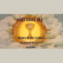 Holy Grail Ale